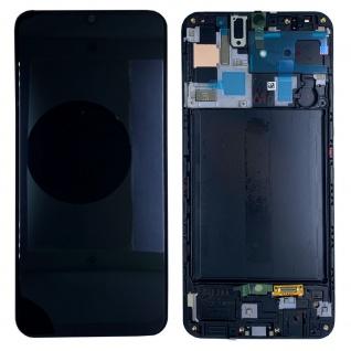 Samsung Display LCD Kompletteinheit für Galaxy A50 A505F GH82-19204A Schwarz Neu