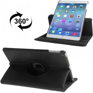 360 Grad Schutzhülle Schwarz für Apple iPad Air Case Hülle + Folie und Touchpen