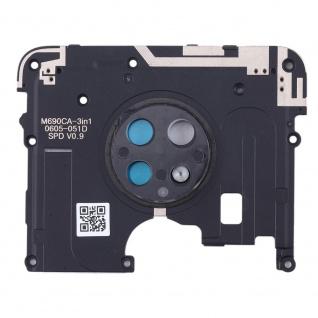 Motherboard Rahmen für Nokia 6.2 / 7.2 Schwarz Bezel Frame Ersatzteil Zubehör