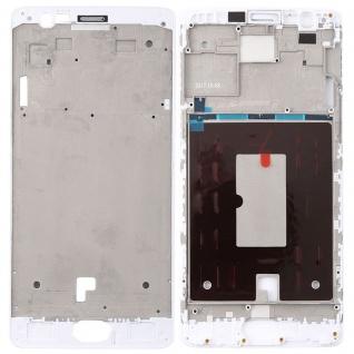 Gehäuse Rahmen Mittelrahmen Deckel für OnePlus 3 / 3T Weiß Reparatur Ersatz Neu