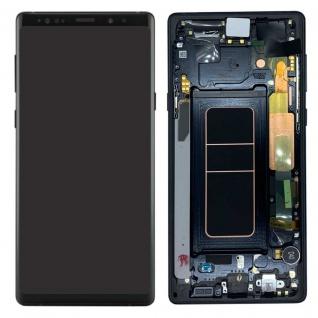 Samsung Display LCD Komplettset GH97-22269A Schwarz für Galaxy Note 9 N960F Neu