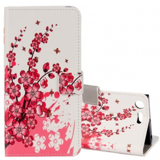 Schutzhülle Motiv 26 für Sony Xperia XZ1 Compact Tasche Hülle Case Zubehör Neu