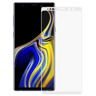 Hybrid TPU gebogene Panzer Folie Weiß Schutz für Samsung Galaxy Note 9 N960F Neu