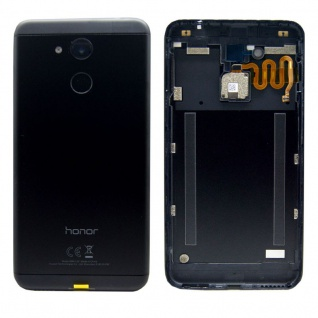 Huawei Akkudeckel Akku Deckel Batterie Cover Schwarz für Honor 6C Pro / 97070SQE