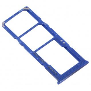 Dual Sim Karten Halter für Samsung Galaxy A70 Blau Card Tray Micro SD Ersatzteil - Vorschau 3