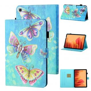 Für Samsung Galaxy Tab A7 2020 Motiv 80 Tablet Tasche Kunst Leder Hülle Etuis