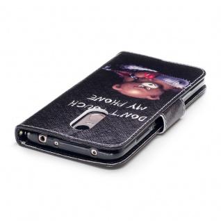 Für Huawei P Smart Plus Kunstleder Tasche Book Motiv 30 Schutz Hülle Case Cover - Vorschau 4