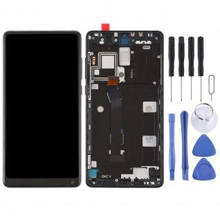 Für Xiaomi Mi MIX 2 Reparatur Display LCD Komplett Einheit mit Rahmen Schwarz - Vorschau 4