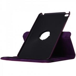 Schutzhülle 360 Grad Lila Tasche für Apple iPad Pro 12.9 Zoll Hülle Case Etui