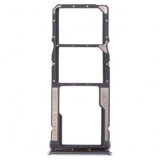 Sim Card Tray für Xiaomi Redmi Note 8 Silber Karten Halter Holder Ersatzteil