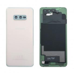 Samsung GH82-18452F Akkudeckel Deckel für Galaxy S10e G970F Klebepad Weiß Ersatz