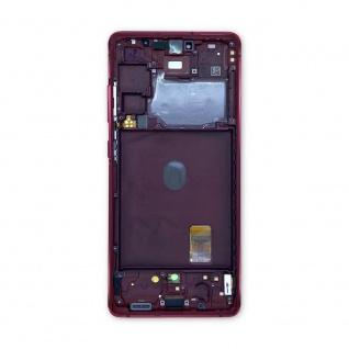 Samsung Display LCD Kompletteinheit für Galaxy S20 FE GH82-24219E Rot