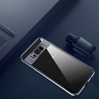 Original ROCK Bumper Case für Samsung Galaxy S8 Plus G955F Tasche Hülle Blau Neu