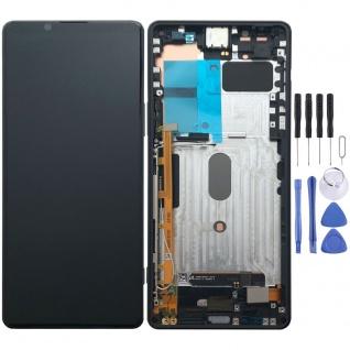 Sony Display LCD Komplett Einheit für Sony Xperia 1 II 2. Gen A5019821A Schwarz