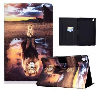 Für Lenovo Tab M10 Plus 10.3 Zoll X606F Motiv 11 Tablet Tasche Kunst Leder Etuis