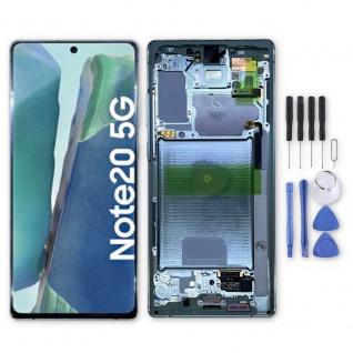 Samsung Display LCD Kompletteinheit für Galaxy Note 20 GH82-23495C Grün