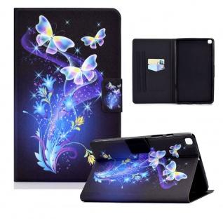 Für Samsung Galaxy Tab S6 Lite P610 Motiv 86 Tablet Tasche Kunst Leder Etuis Neu
