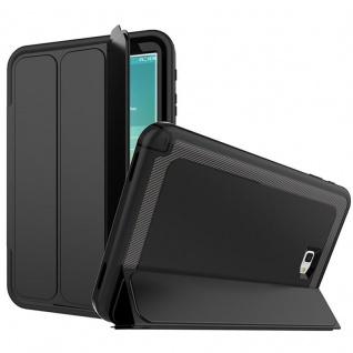 Hybrid Outdoor Schutzhülle Schwarz für Samsung Galaxy Tab A 10.1 T580 Tasche Neu
