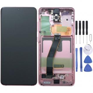 Samsung Display LCD Kompletteinheit für Galaxy S20 G980F GH82-22131C Pink
