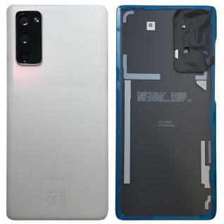 Samsung Akku Deckel Batterie Galaxy S20 FE 5G GH82-24223B Cloud White / Weiß