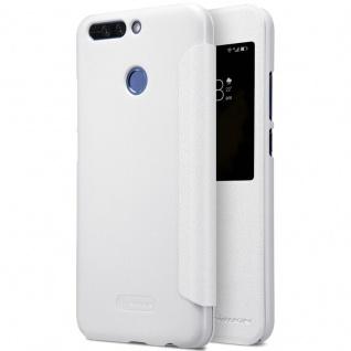 Nillkin Smartcover Weiß für Huawei Honor 8 Pro Tasche Hülle Case Etui Schutz Neu