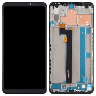 Für Xiaomi Mi MAX 3 Display Full LCD Touch Einheit mit Rahmen Reparatur Schwarz - Vorschau 3