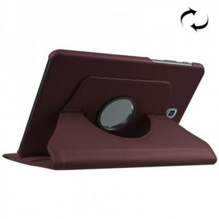 Schutzhülle 360 Grad Braun Tasche für Samsung Galaxy Tab S2 8.0 SM T710 T715N