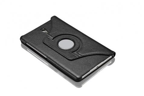 Für Samsung Galaxy Tab S4 10.5 T830 T835F Schwarz 360 Grad Kunstleder Tasche Neu - Vorschau 3
