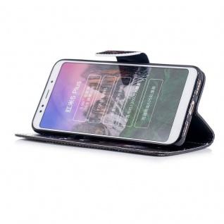 Für Huawei Y6 2018 Kunstleder Tasche Book Motiv 30 Schutz Hülle Case Cover Etui - Vorschau 3
