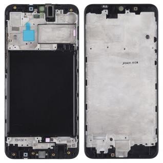 Mittelrahmen Schwarz für Samsung Galaxy A10 A105F Ersatz Zubehör Rahmen Gehäuse