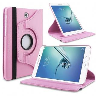 Schutzhülle 360 Grad Rosa Tasche für Samsung Galaxy Tab S3 9.7 T820 T825 Case