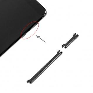 Power Volume Button Schwarz für Xiaomi Mi 6 Lautstärke On Off Ersatzteil Zubehör