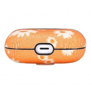 Apple Airpods Pro Cover Ring Orange Schutzhülle Cover Tasche Case Etui Halter - Vorschau 5