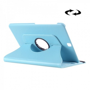 Schutzhülle 360 Grad Hell Blau Tasche für Samsung Galaxy Tab S2 9.7 T810 T815N