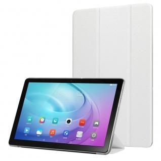 Für Samsung Galaxy Tab S6 Lite.Wake UP Smart Cover Tablet Tasche Hülle Weiß Case