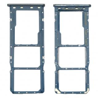 Für Samsung Galaxy A50 Simkarten Halter Sim Tray SD Card Blau Zubehör Ersatzteil