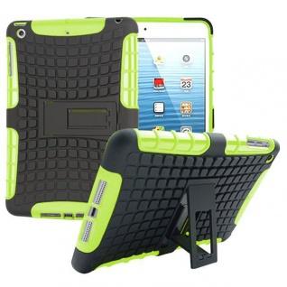 Hybrid Outdoor Schutzhülle Cover Grün für Apple iPad 2 / 3 / 4 Tasche Case Hülle