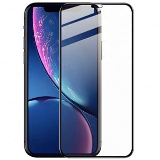0, 3 mm H9 4D Full Curved Hart Glas Schwarz Schutz für Apple iPhone 11 6.1 Zoll