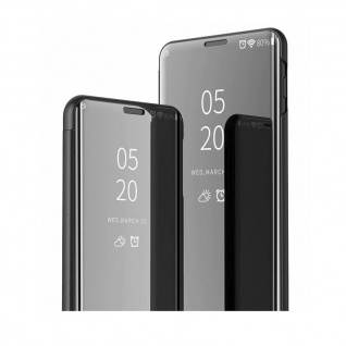 Für Samsung Galaxy A20e Clear View Smart Cover Lila Etuis Tasche Hülle Wake UP - Vorschau 3