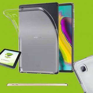 Für Samsung Galaxy Tab S6 Lite Transparent Hülle Tablet Tasche + HD LCD Folie