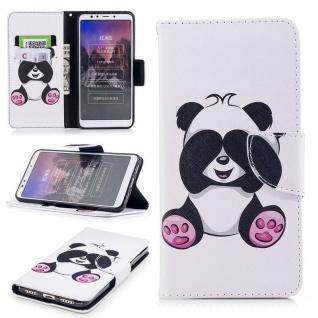 Für Huawei P20 Lite Kunstleder Tasche Book Motiv 33 Schutz Hülle Case Cover Etui