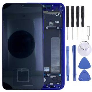 Für Xiaomi Mi 9 Lite Display Full OLED LCD mit Rahmen Reparatur Blau Ersatzteil