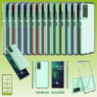 Color Frame Case TPU Silikon für Samsung Galaxy S20 FE Tasche Hülle Cover Etuis