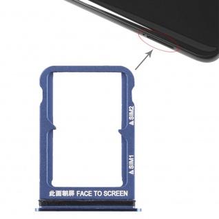 Für Xiaomi Mi 8 Karten Halter Sim Tray Schlitten Holder Ersatzteil Blau Zubehör