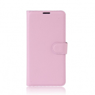 Tasche Wallet Premium Rosa für Wiko Upulse Lite Hülle Case Cover Etui Schutz Neu - Vorschau 2