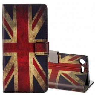 Schutzhülle Motiv 22 für Sony Xperia XZ1 Compact Tasche Hülle Case Zubehör Neu