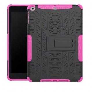 Hybrid Outdoor Schutzhülle Cover Pink für Apple iPad 9.7 2017 Tasche Case Hülle