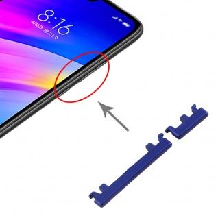 Für Xiaomi Redmi 7 Sidekeys Seitentasten Blau Ersatzteil Zubehör Reparatur