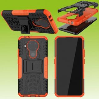 Für Nokia 5.4 Outdoor Orange Handy Tasche Etuis Hülle Cover Case Schutz Zubehör