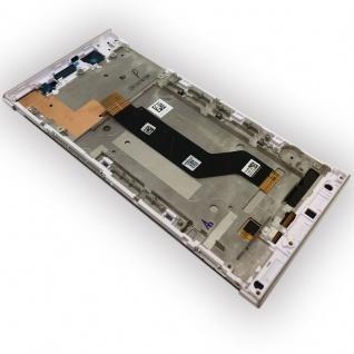 Sony Display LCD Komplett mit Rahmen für Xperia XA1 Ultra G3212 Weiß Ersatz Neu - Vorschau 3